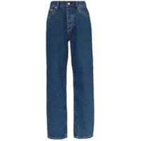 Eytys Calça Jeans Benz Com Cintura Alta - Azul