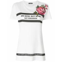 Dolce & Gabbana Camiseta 'see Now Buy Now' - Branco