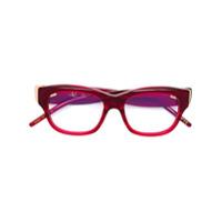 Pomellato Eyewear Armação De Óculos Retangular - Vermelho