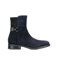 Tommy Hilfiger Ankle Boot Monogramada - Azul