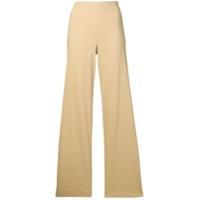 Theory Calça pantalona - Neutro