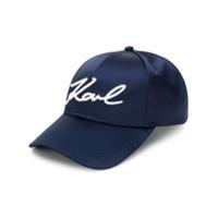 Karl Lagerfeld Boné K/signature - Azul