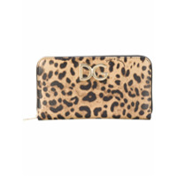 Dolce & Gabbana Carteira Animal Print - Neutro