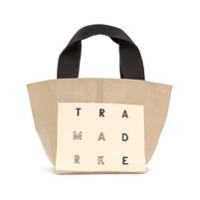 Trademark Bolsa Tote Dupla Face Pequena - Neutro