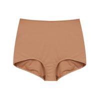 À La Garçonne Hot Pants - Marrom