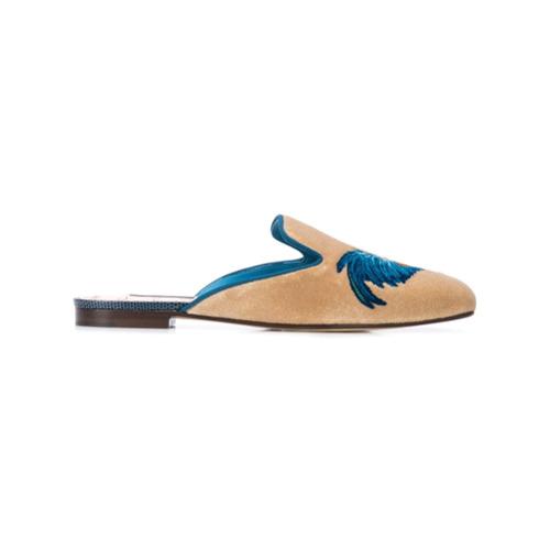 Imagem de Dolce & Gabbana rooster slippers - Neutro