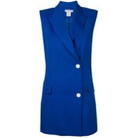 Bianca Spender Colete Estruturado - Azul