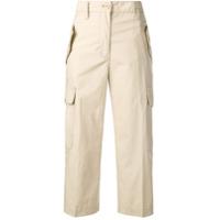 Marc Jacobs Cropped Cargo Pants - Neutro