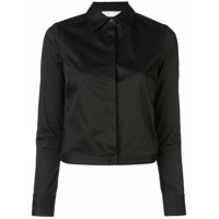 Alexis Camisa Com Botões Ocultos - Preto
