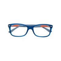 Ray-Ban Armação De Óculos Quadrada - Azul