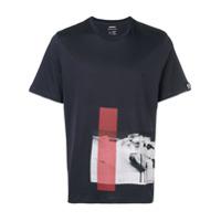 Ecoalf Camiseta 'rockwood Snow' - Azul
