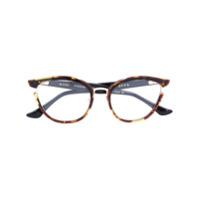 Dita Eyewear Armação De Óculos 'mikro' - Marrom