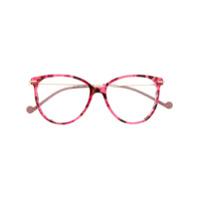 Liu Jo Armação Para Óculos Redonda - Rosa