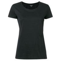 Majestic Filatures Camiseta Mangas Curtas - Preto