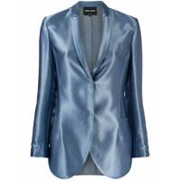 Giorgio Armani Blazer Com Abotoamento - Azul