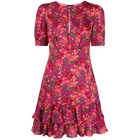 Liu Jo Vestido Com Estampa Floral - Rosa