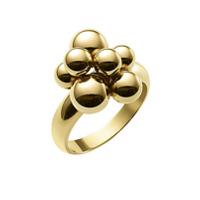 Marina B Anel Atomo Mini De Ouro 18K - 18K Yellow Gold