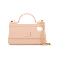 Dolce & Gabbana Capa Para Iphone X E Xs Handbag - Neutro