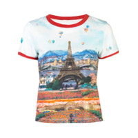 Alice+Olivia Camiseta Rylyn - Estampado