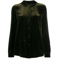 Aspesi Camisa De Veludo - Verde