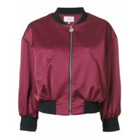 Carven Jaqueta Bomber Cropped - Rosa