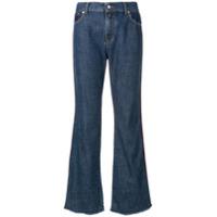 Ps Paul Smith Calça Jeans Cropped - Azul
