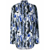 Marni Camisa Com Padronagem - Azul