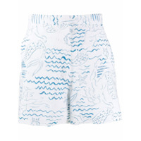 Kenzo Short Wave Mermaids - Branco