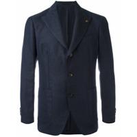 Gabriele Pasini Blazer Com Padronagem - Azul