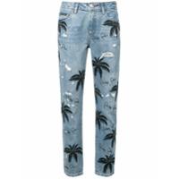 Philipp Plein Calça Jeans 'palmeiras' - Azul