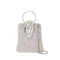 Gedebe Crystal Embellished Tote - Prateado