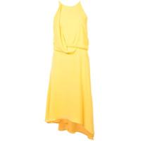 Halston Heritage Vestido modelagem solta - Amarelo