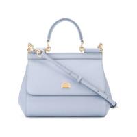 Dolce & Gabbana Bolsa Tote Pequena Modelo 'sicily' - Azul