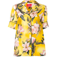 F.r.s For Restless Sleepers Floral Shirt - Amarelo