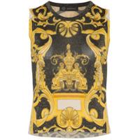 Versace Blusa 'barocco' - Preto