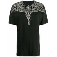Marcelo Burlon County Of Milan Camiseta Estampada - Preto
