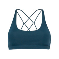 Nimble Activewear Top Esportivo Flow And Go - Azul