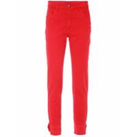 A.brand Calça Jeans Skinny - Vermelho Barcelos
