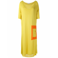 Mara Mac Vestido Midi De Tricô - Amarelo