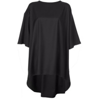 The Celect Blusa Com Drapeado Posterior - Preto