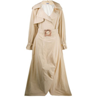 Palomo Spain Trench Coat Oversized - Neutro