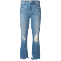 Mother Calça Jeans Cropped - Azul
