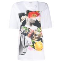 Alexander Mcqueen Camiseta Com Estampa Gráfica - Branco