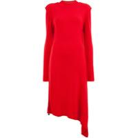 Aalto Vestido Assimétrico - Vermelho