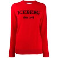 Iceberg Suéter Com Logo - Vermelho