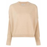 Dusan Chunky Knit Sweater - Marrom
