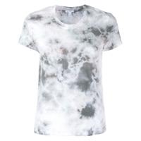 James Perse Camiseta Com Estampa Gráfica - Cinza