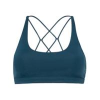 Nimble Activewear Top Esportivo Flow And Go - Azul
