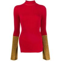 Moncler Genius 1952 Suéter Com Punhos Contrastantes - Vermelho