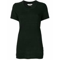 Isabel Marant Étoile Camiseta De Linho Mangas Curtas 'kilianne' - Preto
